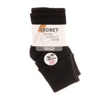 Secret Women's Cuff Socks-3 Pairs