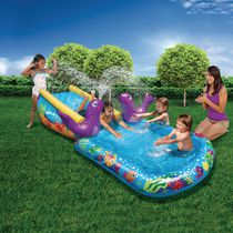Play Day Summer Inflatables My First Water Slide 82256 Pool And Slide