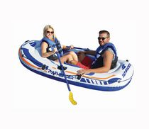 Pathfinder 2 Person Inflatable River Raft Boat Set