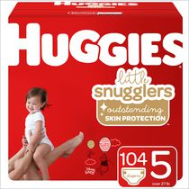 Huggies Little Snugglers Baby Diapers, Mega Colossal Pack