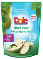 Dole Sliced Pears in Fruit Juice