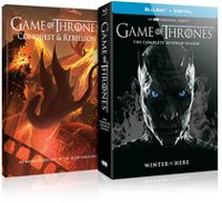 Game Of Thrones: The Complete Seventh Season (Blu-ray + Numérique + Conquest & Rebellion) (Bilingue)
