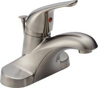 Peerless® Brushed Nickel Single Handle Centerset Lavatory Faucet