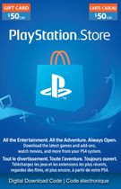 PlayStation® Network - $50 PlayStation® Store Gift Card [Digital Download]