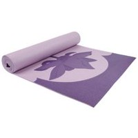 Tapis de yoga à imprimé d'Everlast avec sac-filet - 6 mm Violet.