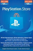 PlayStation® Network - $25 PlayStation® Store Gift Card [Digital Download]