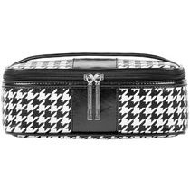 AMF Houndstooth Large Train Cosmetic Case