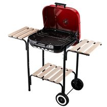 Outsunny Charcoal BBQ Trolley Barbecue Grill