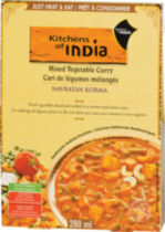 Kitchens of India Mixed Vegetable Curry Navratna Korma