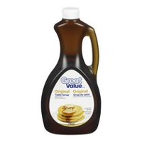 Sirop de table original de Great Value
