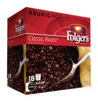 Folgers Classic Roast K-Cup Coffee Pods
