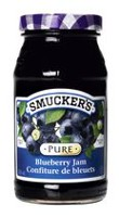 Smucker's Pure Blueberry Jam