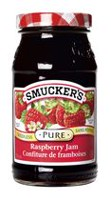 Smucker's Pure Seedless Raspberry Jam