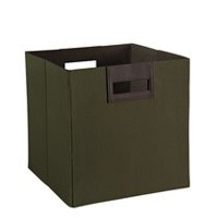 Polyester Fabric Bin - Green