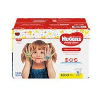Huggies Simply Clean Baby Wipes, Fragrance Free
