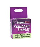 PaperPro® Standard Staples - Half-Strip
