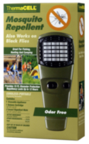 ThermaCELL Mosquito Repellent Olive Appliance with one TR1 Refill