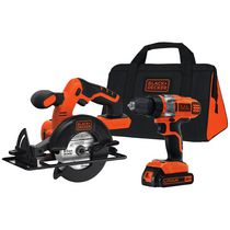 Ensemble 2 outils au lithium 20 V Max de Black & Decker