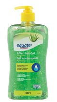 Equate Aloe Vera Gel après-soleil