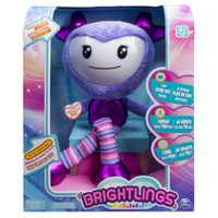 "Brightlings Interactive Singing Purple Talking 15"" Plush"