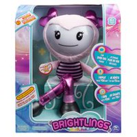 "Brightlings Interactive Singing Pink Talking 15"" Plush"