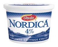 Nordica 4% M F Creamed  Cottage Cheese