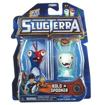 Ensemble de 2 figurines base de Slugterra - Bolo et Spooker
