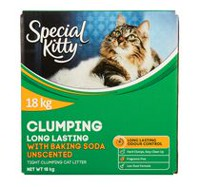 Special Kitty Unscented with Baking Soda Unscented Clumping Cat Litter