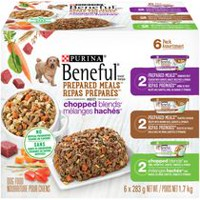 Purina® Beneful® Prepared Meals™ & Chopped Blends™ Variety Pack Dog Food