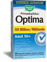 Nature's Way Optima Adult 50+ Probiotic, 50 Billion CFU
