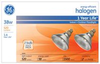General Electric Energy-Efficiency Halogen Bulb 38W PAR38 2PK