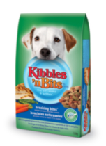 Kibbles 'n Bits Brushing Bites Savoury Chicken and Vegetable Dry Dog Food