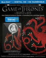 Game Of Thrones: The Complete Seventh Season (Walmart Exclusive) (Blu-ray + Digital HD + Conquest & Rebellion + Hand Of The Queen Pin) (Bilingual)