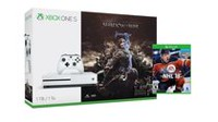 Microsoft Xbox One S 1TB Console - Shadow of War™ Bundle with NHL 18