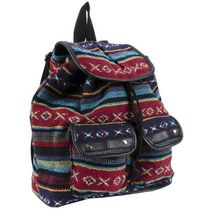 Moxy Women's  Dhurrie Drawstring Bag Multi