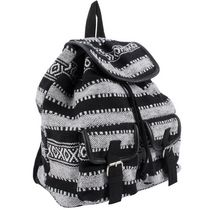 Moxy Women's  Dhurrie Drawstring Bag Black