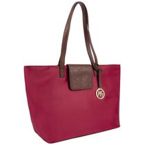 Anna Martina Women's  Franco East West Tote Red