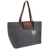 Anna Martina Women's  Franco East West Tote Grey