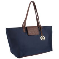 Anna Martina Women's  Franco East West Tote Navy