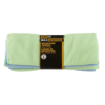 6-Pack Microfibre Clean & Polish Towels