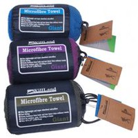 WillLand Outdoors Micro-Fibre Travel Towel (T60724) - Purple