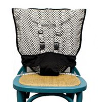 Mint Marshmallow Travel Seat - Black