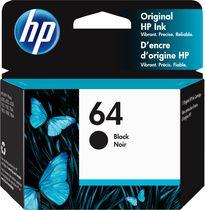 HP 64 Cartouche d'encre noir d'origine (N9J90AN)