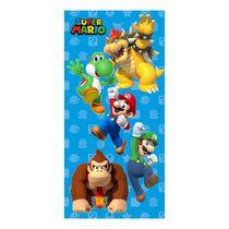 "Super Mario ""Seek to Win"" Beach Towel"