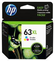 HP 63XL Cartouche d'encre tricolore à rendement élevé d'origine (F6U63AN)