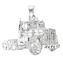 Sterling Silver Truck Charm