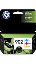 HP 902 Ens. 3 cartouches d'encre cyan, magenta et jaune d'origine (T0A38AN)
