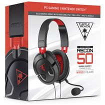 TURTLE BEACH® RECON 50 Gaming Headset for PC and Mac (English Only Package)