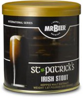 Mr. Beer St. Patrick's Irish Stout Home Brewing Beer Refill Kit