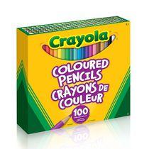 Crayons de couleur de Crayola 100
